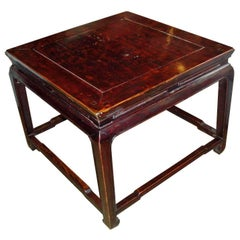 Square Coffee Table, Early 20th Century