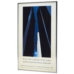 Rare Georgia O'Keeffe City Night Whitney Museum 1978 Exhibit Poster