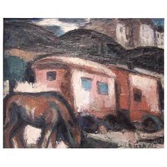 Gio Colucci, Les Roulottes, circa 1930