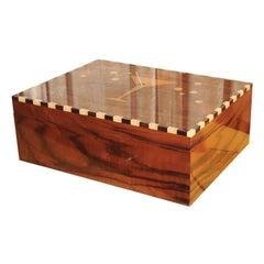 Art Deco Collection Custom-Made Humidor Desk Top Version