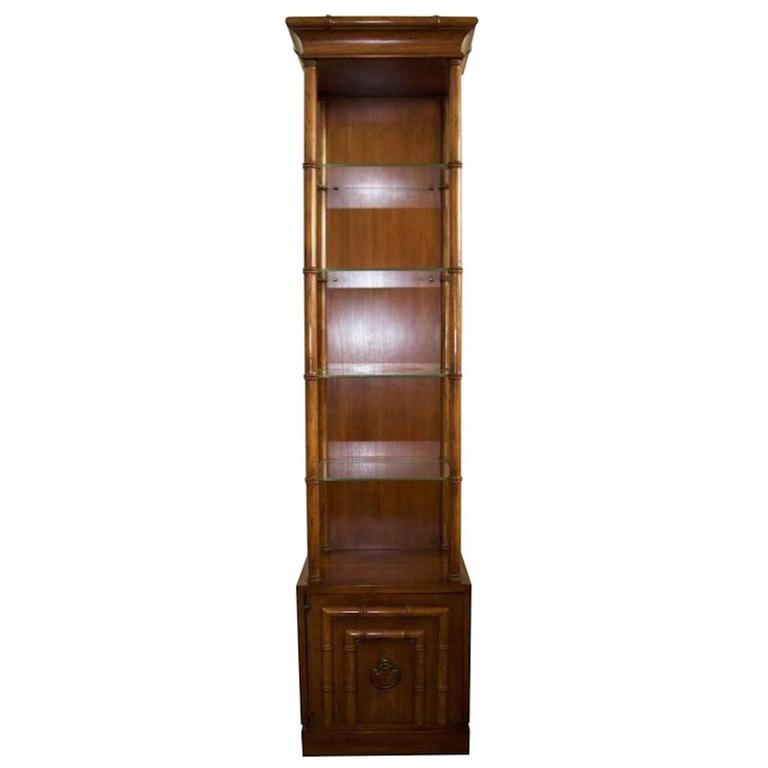 Faux bamboo etagere by drexel heritage for sale at 1stdibs - Drexel heritage bedroom furniture for sale ...