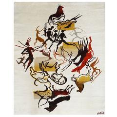 Olga Fisch, Carpet from the Caverna's Serie, circa 1950