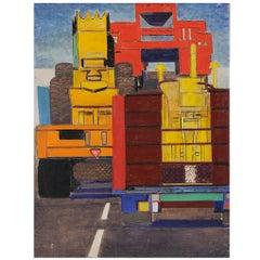 Emile Salkin, Circulation Camions (Traffic Trucks), 1969