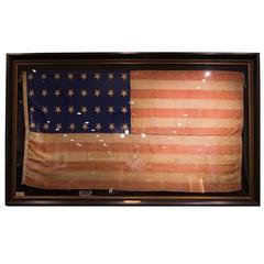 32-Star Pre-Civil War American Flag, circa 1858