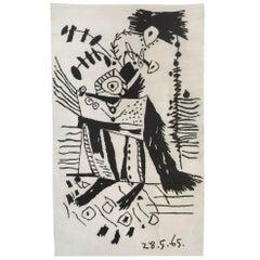 Pablo Picasso Wool Carpet, 1965