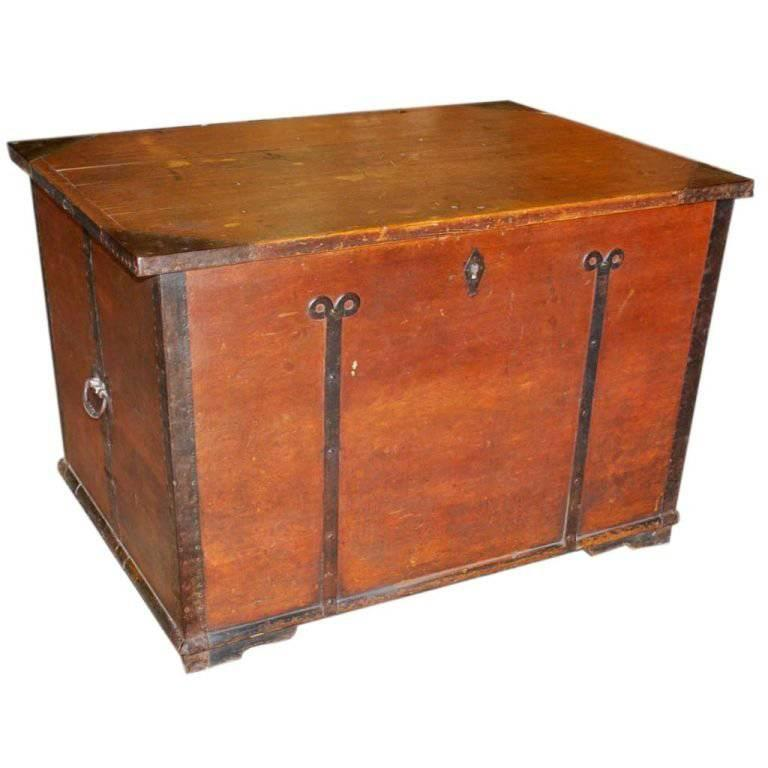 Painted Country Hope Chest For Sale At 1stdibs