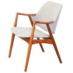 """Alf Svensson Teak """"Kontur"""" Chair for Dux"""