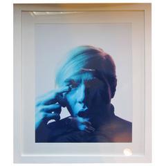 Andy Warhol, 1968 Portrait by Philippe Halsman