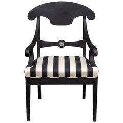 Armchair in Karl Johan and Empire Style