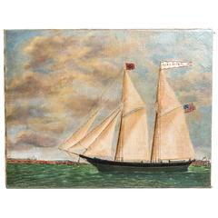 Schooner Ann S. Brown by William Hare