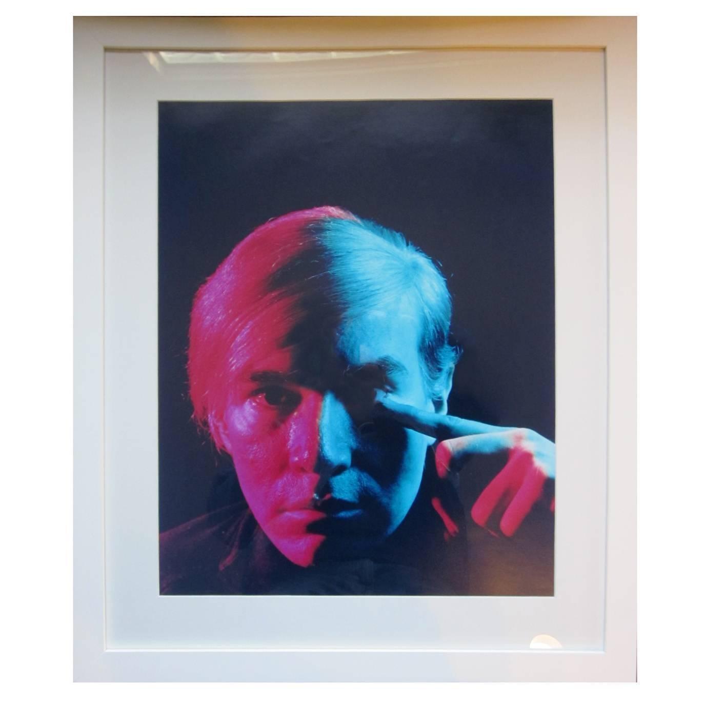 Andy Warhol 1968 Portrait by Philippe Halsman
