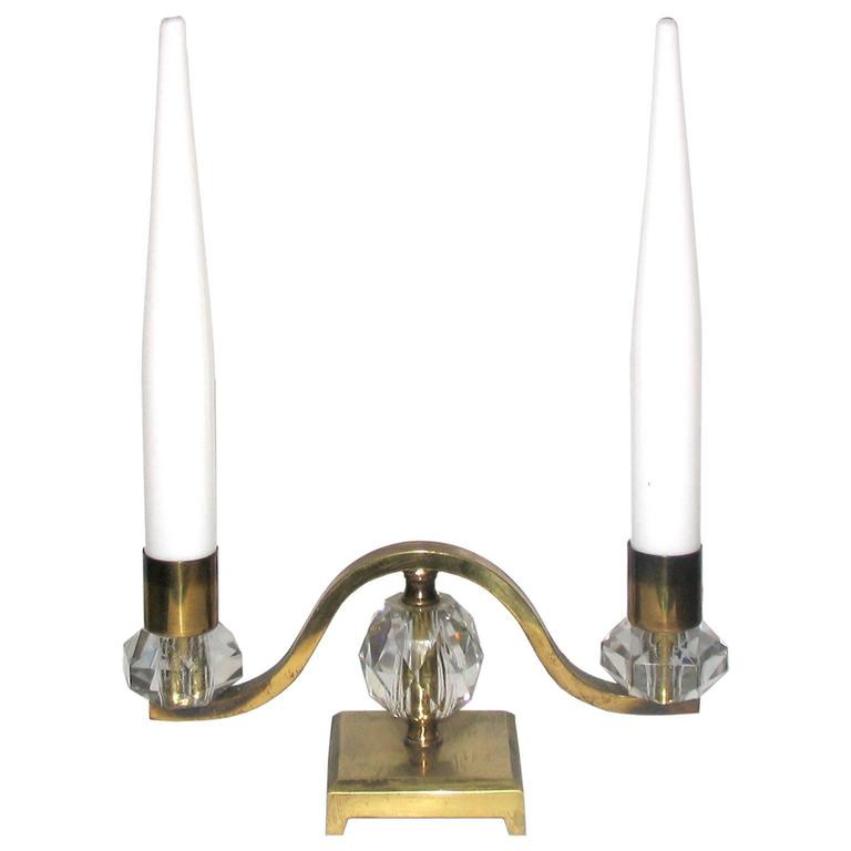 Rare Art Deco Table Lamp in the Style of Edmond Etling 1