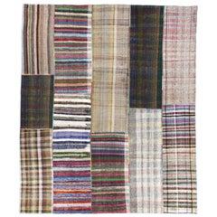 Large Cotton Turkish Rag Rug