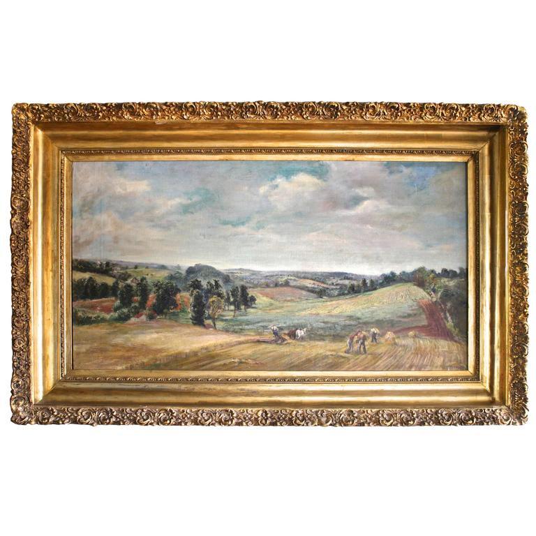 Early Harvest - Pennsylvania Landscape