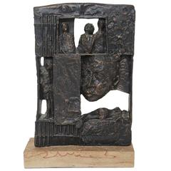 Poignant William Meyerowitz Figural Sculpture