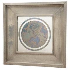 Lead Covered Wood Smoke Mirror