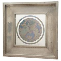 Lead Covered Wood Smoke Mirror
