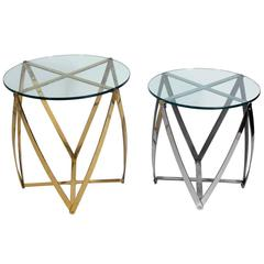 Selection of Sculptural Modernist Tables by John Vesey