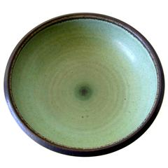 Harrison McIntosh Celedon California Studio Stoneware Bowl