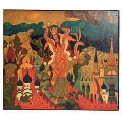 Slovo o Polku Igoreve, The Lay of the Host of Igor Paintinga