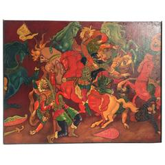 Slovo o Polku Igoreve, The Lay of the Host of Igor Painting