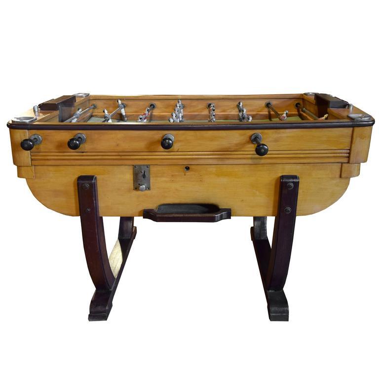 Italian Deco Foosball Table At Stdibs - Antique foosball table for sale