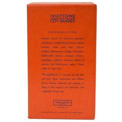 Rare Original Louis Vuitton European City Guide, 2000
