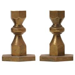 Hexagonal Candlesticks by Metallslojden Gusum