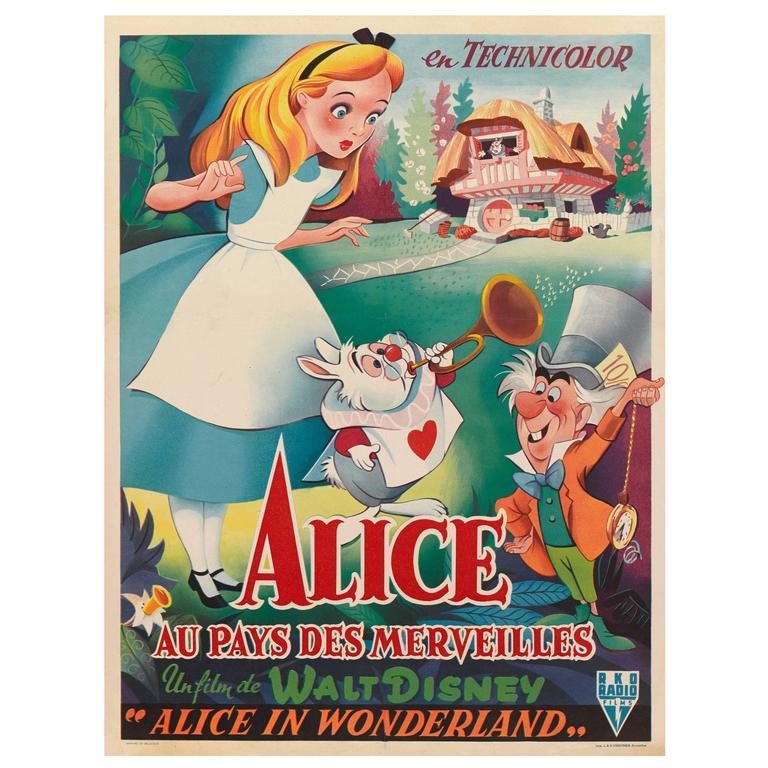 Alice in wonderland alice au pays des merveilles film - Decoration alice aux pays des merveilles ...