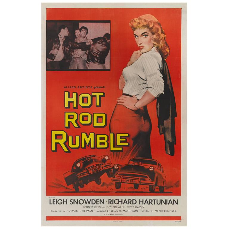 Hot Rod Rumble, US Film Poster