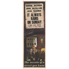It Always Rains on Sunday, British Film Poster