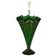 Charming Victorian Figural Umbrella Vase