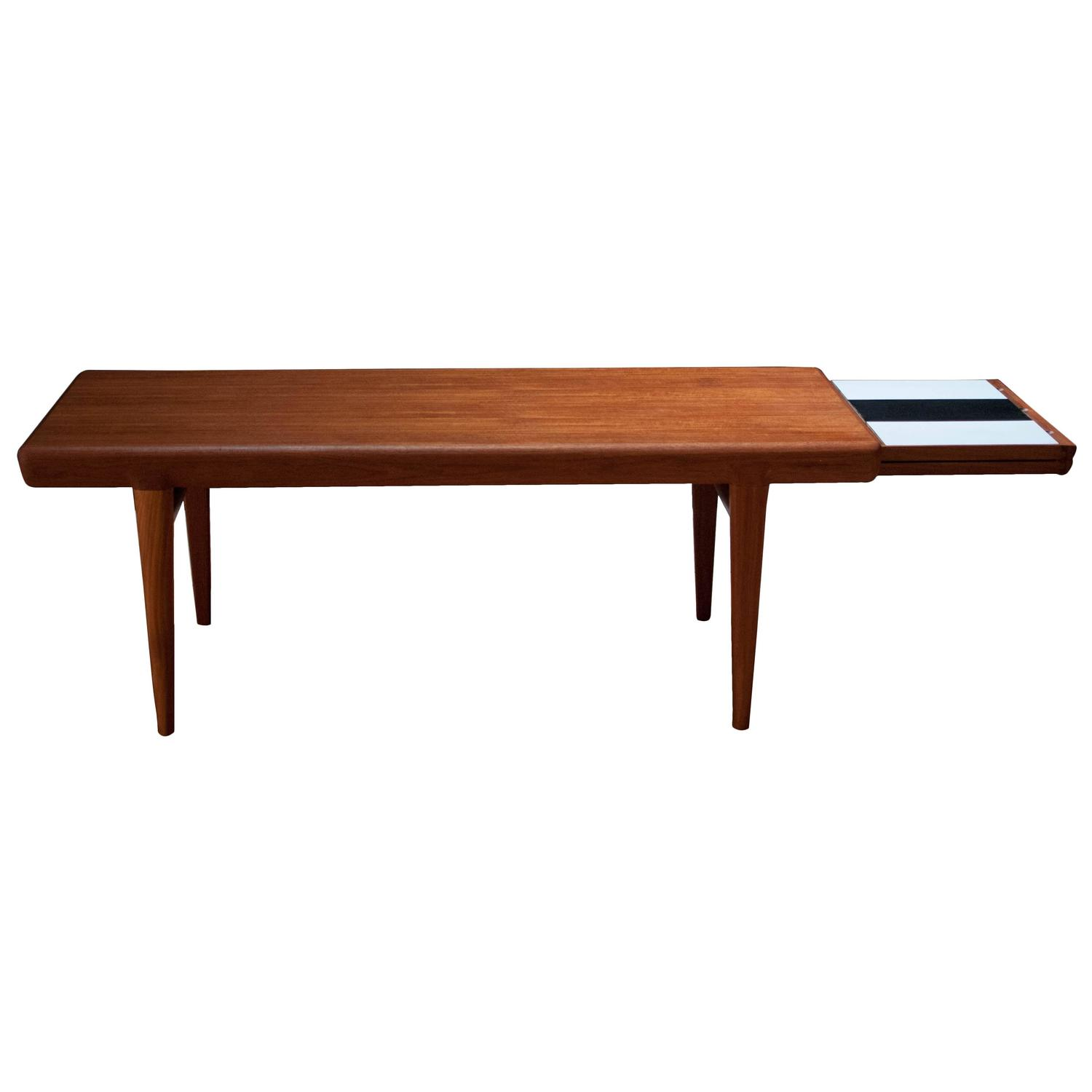 Johannes Andersen Teak Coffee Table At 1stdibs