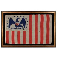 American Revenue Cutter Service Ensign (Flag) Belonging to Cpt. William Bagley