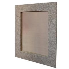 Andrianna Shamaris Bamboo Inlay Mirror