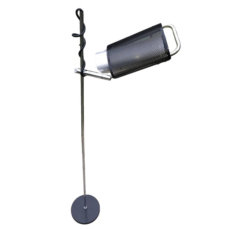 "George Nelson ""Eye Shade"" Floor Lamp"