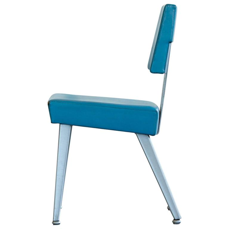 Industrial GF GoodForm Aluminum Task Chair, Special Edition For IBM 1
