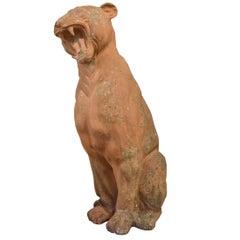 Italian Terracotta Panther