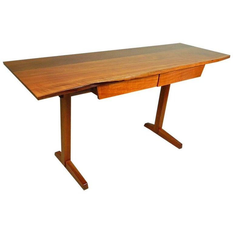 Cherry Desk by George Nakashima For Sale