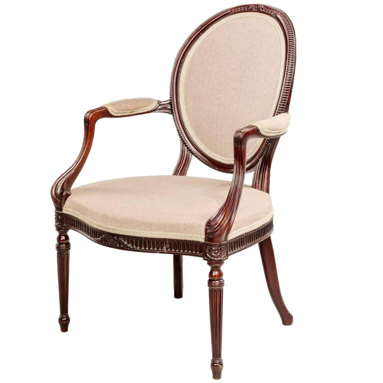 Early 20th Century Elbow Chair For Sale At 1stdibs