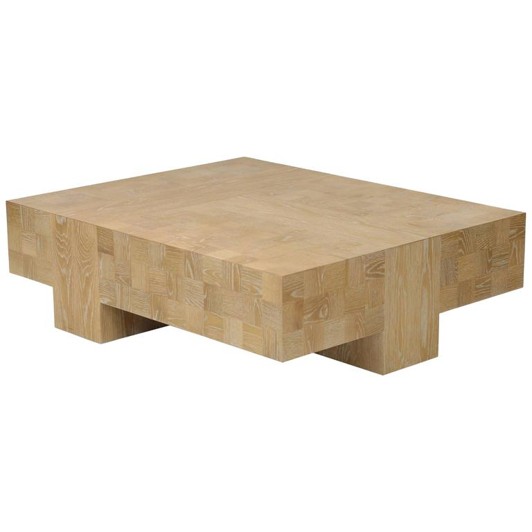 Quadra Oak Coffee Table 1