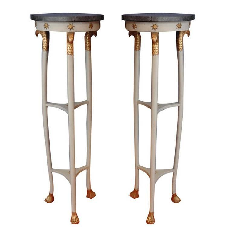 Pair of 19th Century English Regency Stands