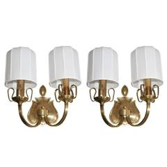 Pair of Austrian Art Deco Sconces