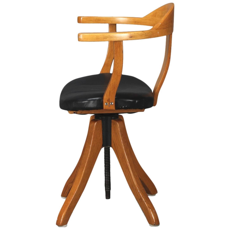 danish midcentury desk chair at 1stdibs