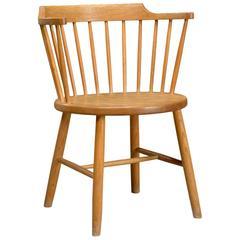 Oak Chair Model 3249 by Børge Mogensen