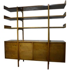 Milo Baughman Storage Room Divider for Glenn of California