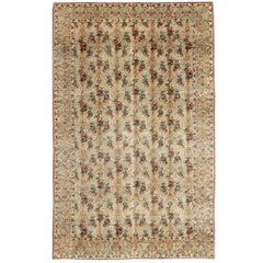Large Antique Tabriz Carpet Persian Rug
