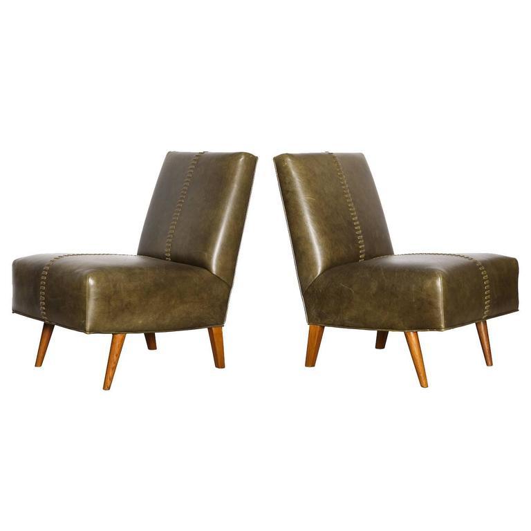 Paul Laszlo Lounge Chairs