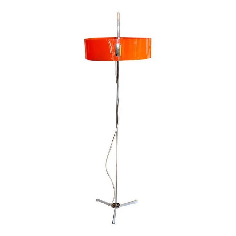 1970s Italian Adjustable Floor Lamp