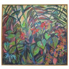 """Wild Things"" Oil on Canvas by Johansen Mercier"